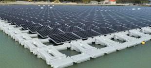 Japonya'da Yüzen Güneş Enerjisi Santralleri Kullanılıyor