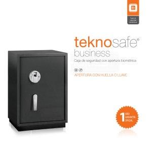 Teknosafe Business Caja de Seguridad Biométrica.