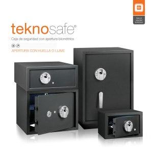 Teknosafe Cajas de Seguridad Biométrica