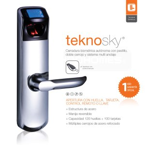 Teknosky Cerradura Biométrica