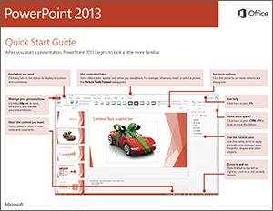 PowerPoint quickstart guide icon