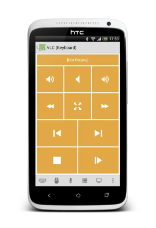 unified remote vlc