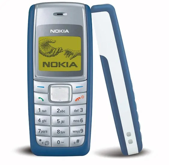 Nokia 1110 ilitoka mwaka 2005