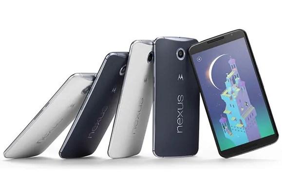 Nexus 6, Simu mpya kutoka Google zinazokuja na Android 5 Lollipop