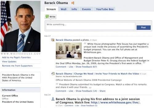 Muonekano wa Facebook Mwaka 2009
