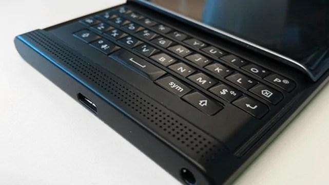 Keyboard Kwenye BlackBerry Priv