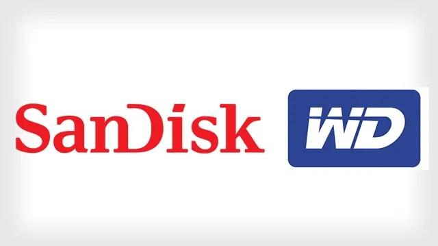 Logo Za SanDisk Na Western Digital
