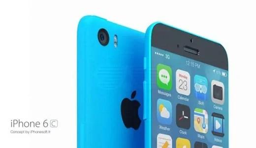 Michoro ya kibunifu juu ya iPhone 6c