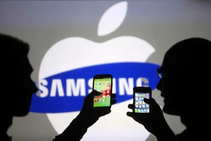 Samsung Na Apple