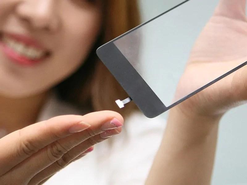 LG waja na teknolojia ya kisasa zaidi ya sensa za Fingerprint