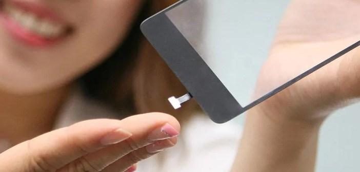 LG fingerprint sensor simu