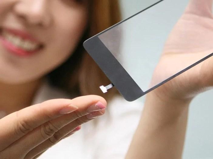 LG fingerprint sensor simu sensa za fingerprint