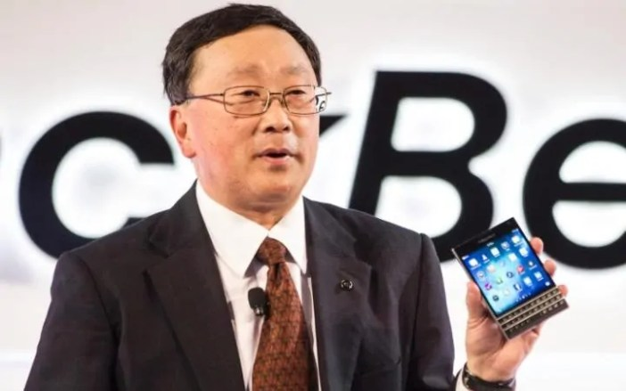 John Chen-Mkurugenzi Mtendaji wa Blackberry blackberry yafikiria