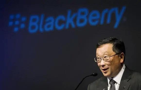Mkurugenzi mkuu mtendaji wa Blackberry Bw. John Chen