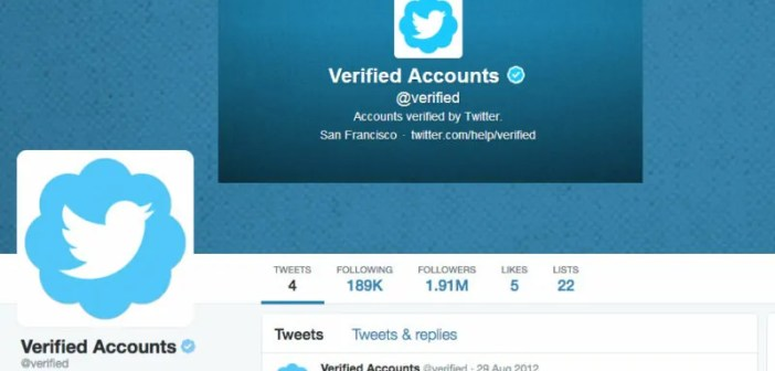 Twitter verification