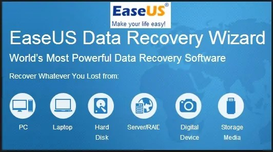 ease data recovery