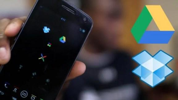 Hifadhi Mafaili Yako Mtandaoni Kwa Kutumia App Za DropBox Na Google Drive