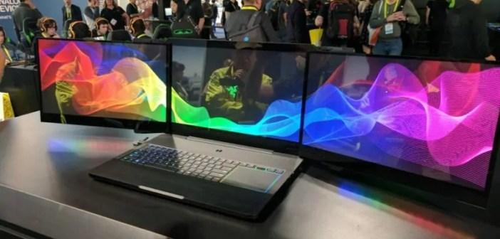 Project Valerie: Kutana na laptop yenye vioo vitatu (display) kwa wakati mmoja