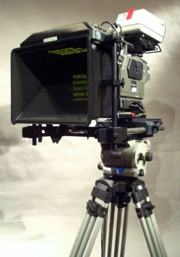 kamera ya teleprompter Teleprompta