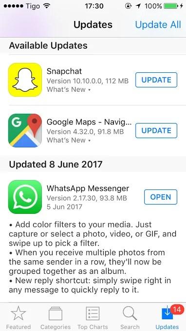 WhatsApp kuleta Albamu