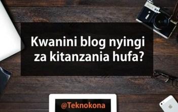 Kwanini blog hufa