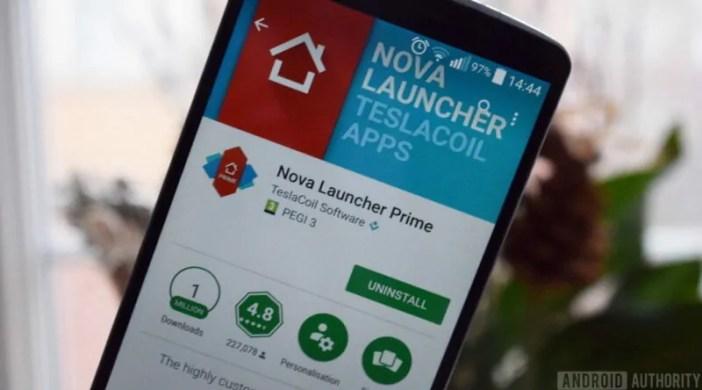 Nova Launcher yapakuliwa mara milioni 50