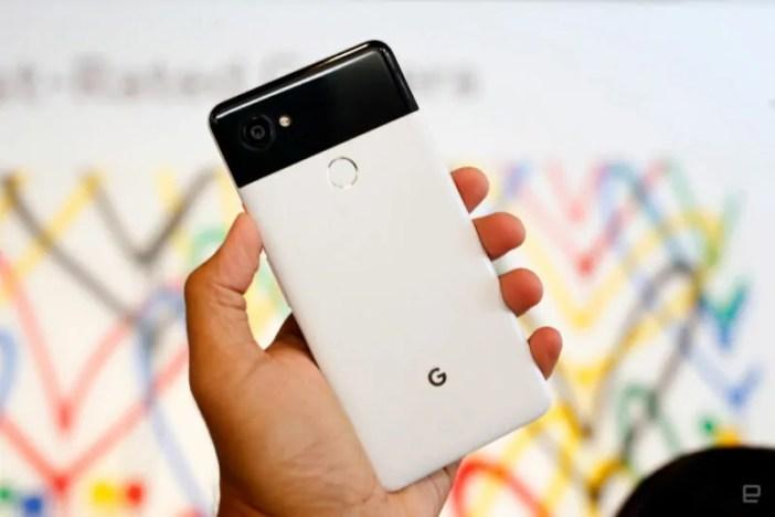 simu google pixel 2