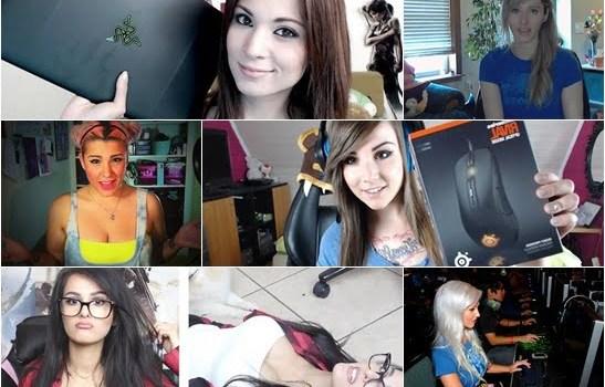 Gamer Cantik dan Juga Terkenal di Dunia