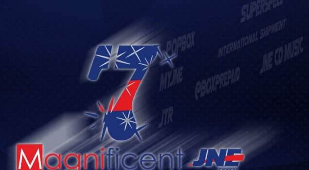 JNE, 7 Magnificent