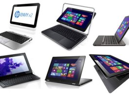 Laptop Hybrid, 2 in 1,