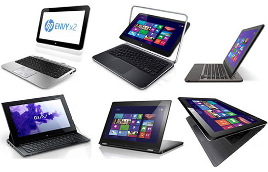 Laptop Hybrid, 2 in 1,