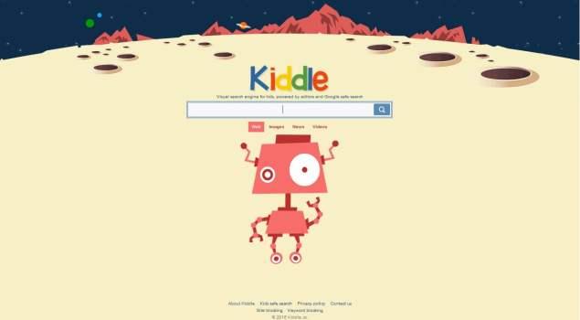 Kiddle, Mesin Pencari, Anak