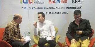 survei, media online, indonesia, IDA, Baidu, Bekraf