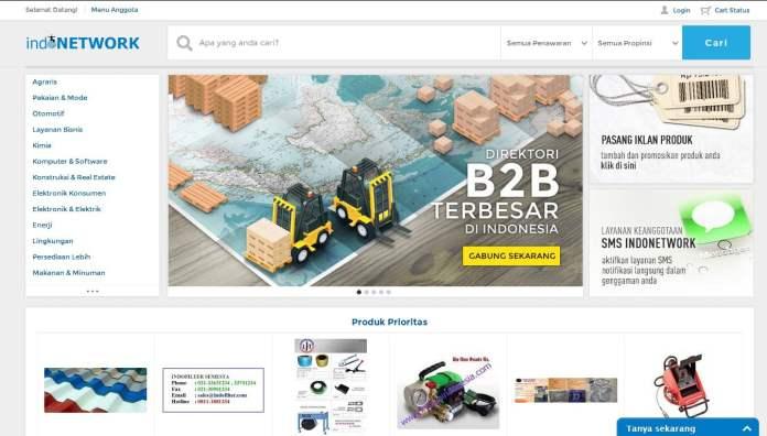Indonetwork, Website, Marketplace, B2B, B2C, Direktori Bisnis