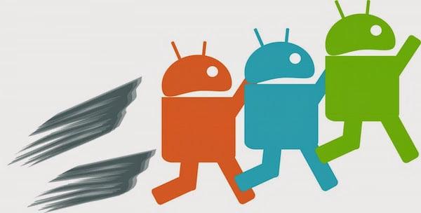 mempercepat android