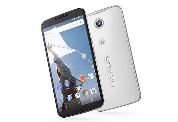 10 android dengan fitur fast charging terbaik Google Nexus 6