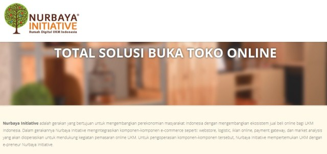 aplikasi jual beli hasil pertanian Nurbaya Initiative