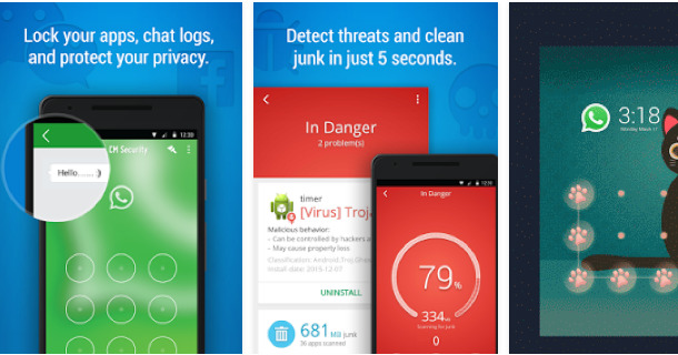 CM Security AppLock AntiVirus Android Apps