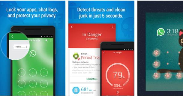 CM Security AppLock AntiVirus Android Apps