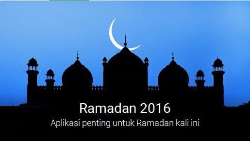 Aplikasi Pilihan dari Google untuk Ramadhan 2016