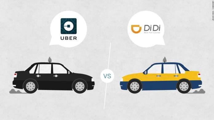 Didi Chuxing, Uber