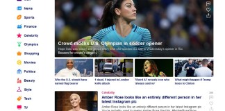 Halaman Utama Yahoo!
