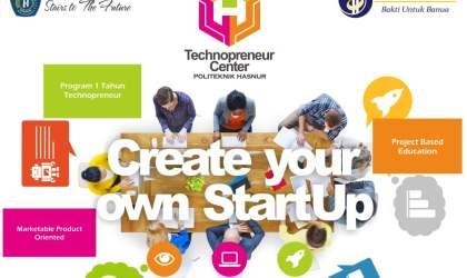 Technopreneur Center diadakan oleh Politeknik Hasnur