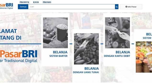 """e-PasarBRI """"Pasar Tradisional Digital"""""""