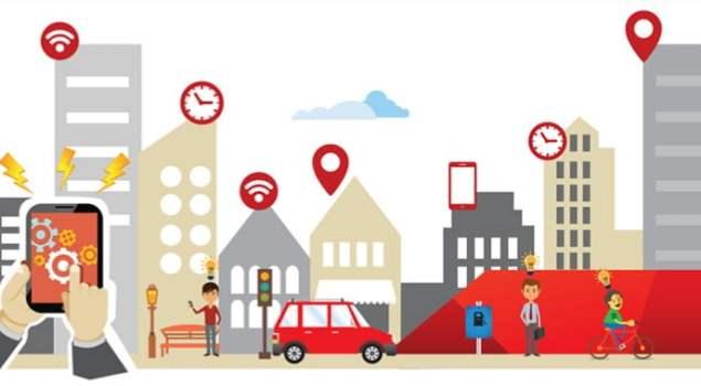 Ilustrasi Smart City