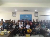 Foto Peserta dengan Penyelenggara Komunitas Startup Banjarmasin dan Dishubkominfo Prov Kalsel