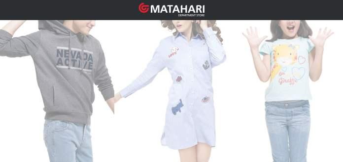 Tampilan MatahariStore.com, Platform Online dari Matahari Department Store