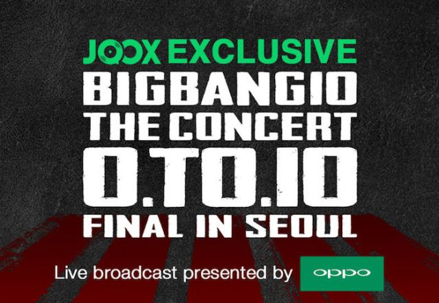 Banner JOOX Exclusive BIGBANG10 THE CONCERT 0.TO.10 FINAL