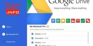 Google Drive Backup Macbook Pro