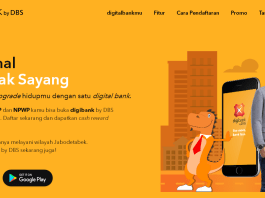 digibank, Bank DBS